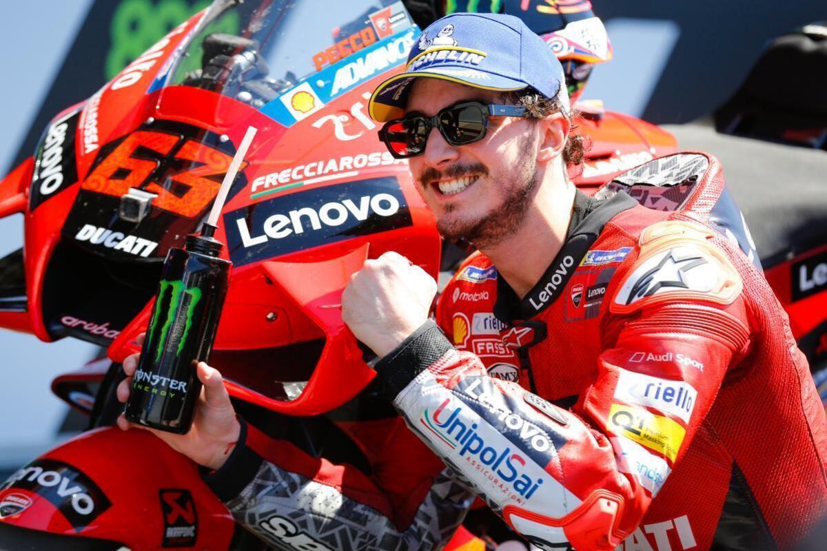 MotoGP, Aragon: vince Bagnaia davanti a Marquez
