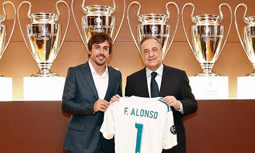 Alonso, tifoso doc del Real: ora è socio onorario dei blancos