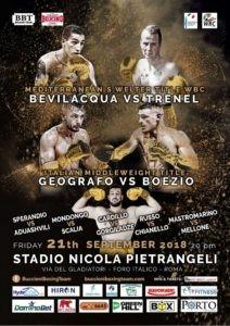 Boxe, Bevilacqua e Geografo danno spettacolo al Foro Italico