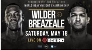 Boxe, Wilder fulmineo contro il modesto Breazeale, KO al primo round