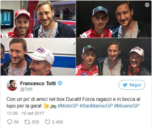 Roma, Totti assicura: Non sarò il futuro allenatore giallorosso