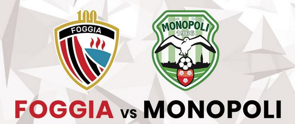 Derby pugliese tra Foggia e Monopoli a caccia di punti