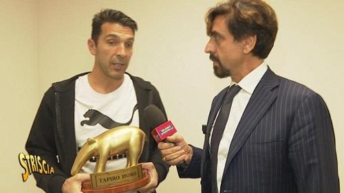 Tapiro d'Oro per Gigi Buffon: ecco il motivo