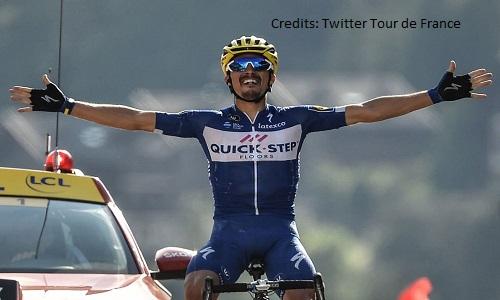 Ciclismo, Freccia Vallone: seconda vittoria consecutiva per Alaphilippe