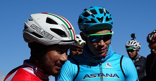 Vuelta: crono all'Astana, Lopez in rosso